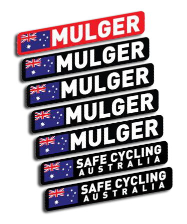 Personalise your ride with these hard wearing waterproof printed vinyl name stickers
